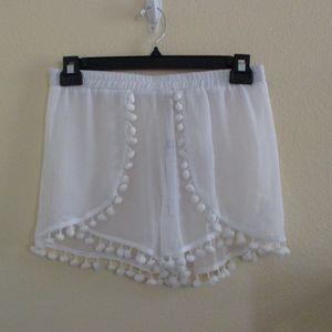 Bleu Rod Beattie bathing suit cover shorts - sz S